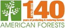 American Forests logo-anniversary_horiz-logo