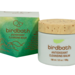 Bird bath antioxidant cleansing balm