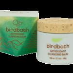Bird bath antioxidant cleansing balm